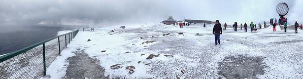 Tourists Swarming Nordkapp