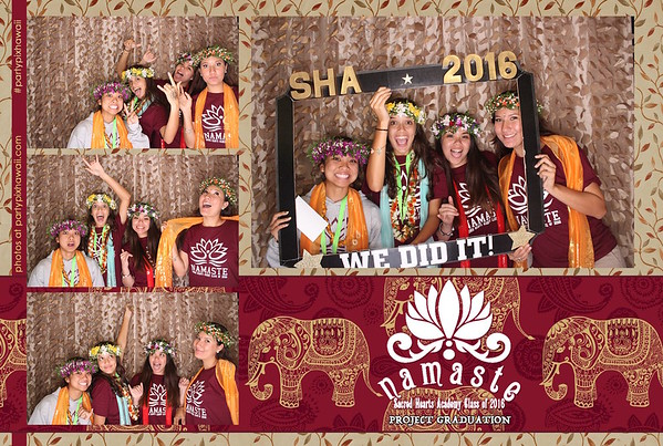 Sacred Hearts Project Grad (LED Open Air Photo Booth)