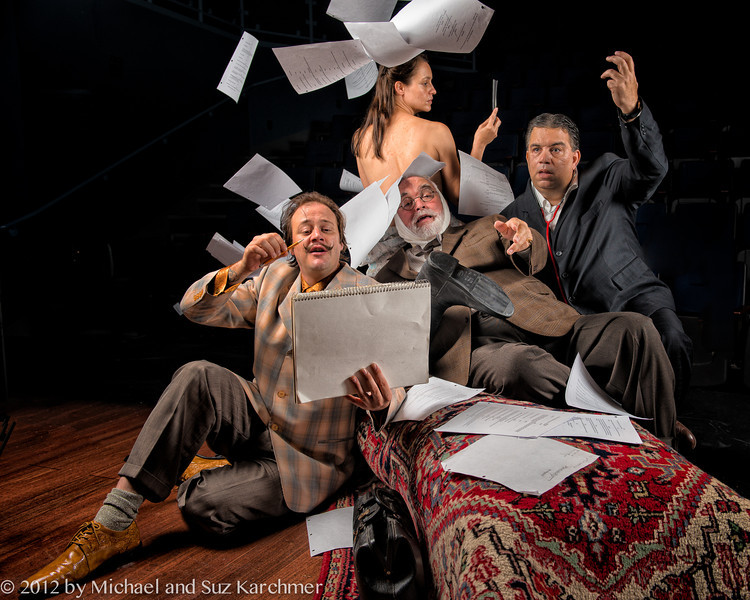 """Promotional Image of the cast of """"Hysteria..."""", 2012 production at the Wellfleet Harbor Actors Theater (Photo credit: Michael and Suz Karchmer)"""