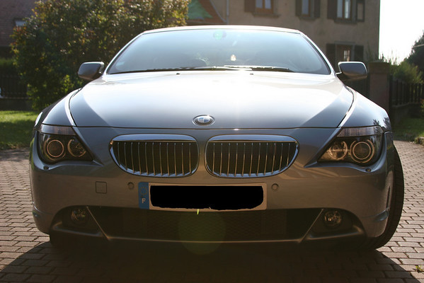 BMW 645 cab