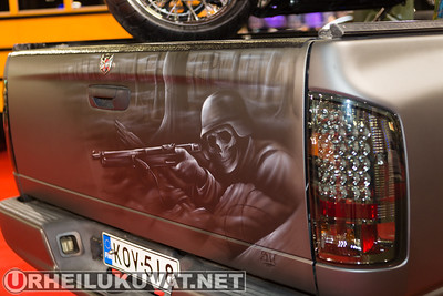 2014 American Car Show Maanantai