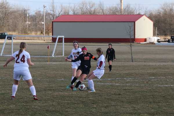 March 21, 2019 - Hillsboro Girls Soccer vs. EAWR