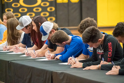 Signees - includes other athletes
