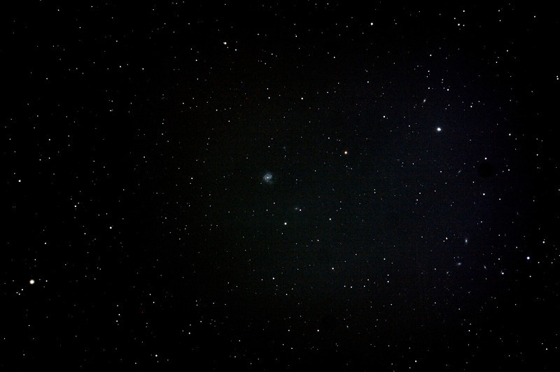 Messier M61 - NGC4303 - Barred Spiral Galaxy in Virgo - 3/5/2013 (Processed stack)