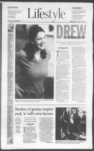 Daily Trojan, Vol. 144, No. 38, October 22, 2001