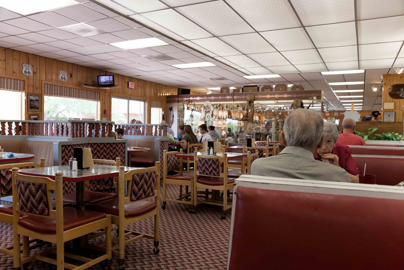 Diners, Petrified Forest National Park, Arizona