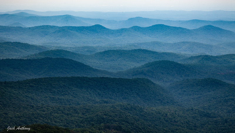 View from Rabun Bald Observation Tower