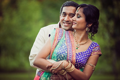 Kavita & Janak's Wedding Reception