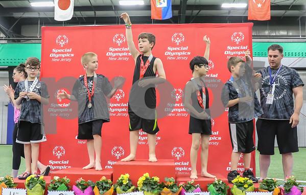 Final Mens Gymnastics Photos -- Awards and Ribbons