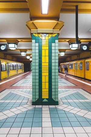Exploring the U-Bahn