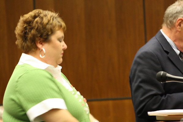 Angie Williams in Court - August 2010