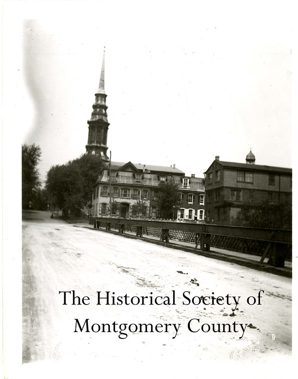 . This undated photo from the Historical Society of Montgomery County shows First Presbterian Church on East Airy Street in Norristown.