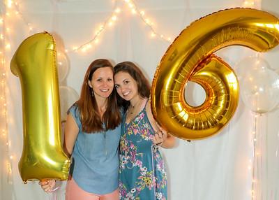 Bri's 16th birthday party May 2018