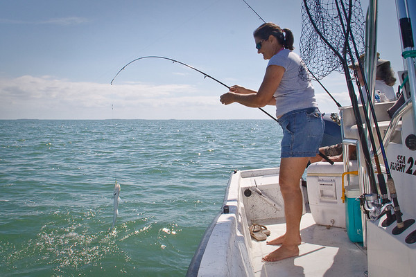 Fishing the Spanish Channel - Big Pine Key 2010