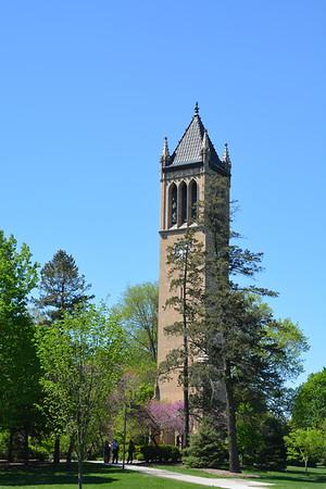 Iowa State Campus: Spring Walk 5/6/17