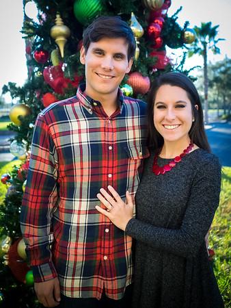 Rachel & David Christmas Card