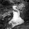 Waterfall _ bw