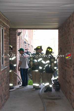 Seaford F.D. Acetylene Tank Fire in Basement 3760 Jerusalem Avenue 4-27-13