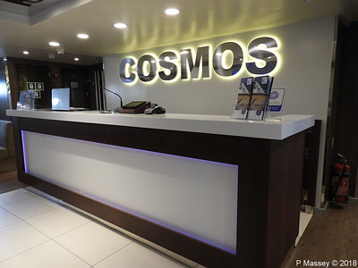 On Board COSMOS 14 Sep 2018