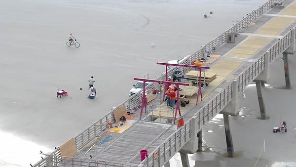 11-8-2017 Pier Construction
