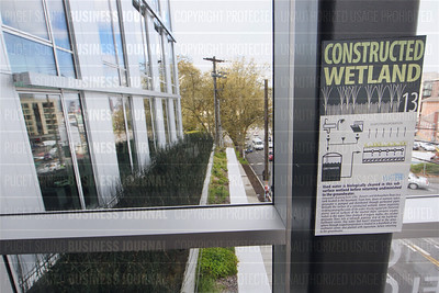 """The Bullitt Center in Seattle, Washington was recently recognized as a """"Living Building"""" and is routed as the greenest commercial building in the world."""