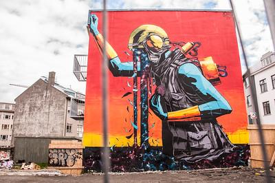 Iceland - street art