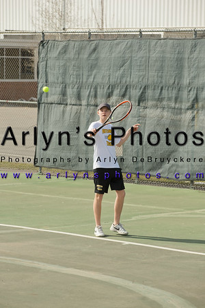 Hutch Boys Tennis vs Holy Family