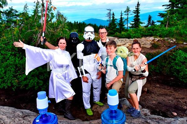 Jul 13, 2019 - Dark Side of Black Mountain aid station volunteers