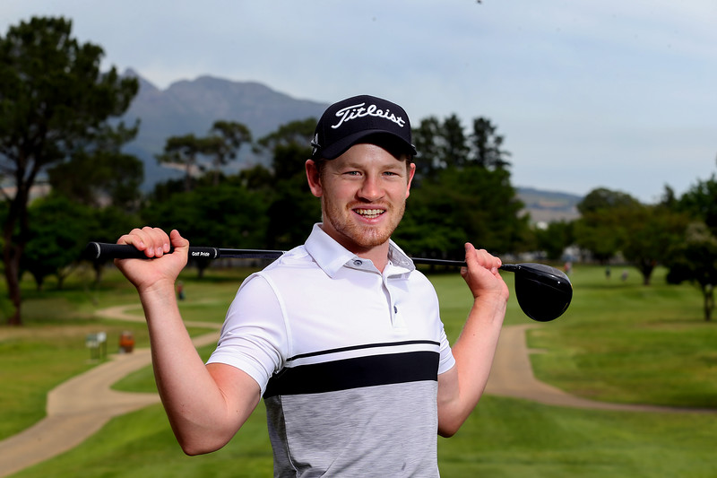 STELLENBOSCH, SOUTH AFRICA - OCTOBER 2: Estiaan Conradie during the held at Stellenbosch Golf Club on October 2, 2018 in Stellenbosch, South Africa. EDITOR'S NOTE: For free editorial use. Not available for sale. No commercial usage. (Photo by Carl Fourie/Sunshine Tour)