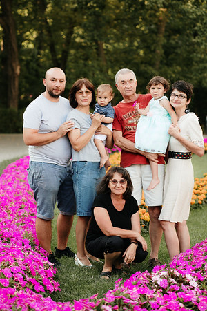 Gabi & Mihaita & Cristiana & Florin & bunicii | 27 august 2020