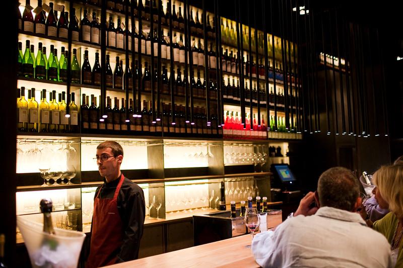Vinoteca Torres Restaurant, Passeig de Gracia, town of Barcelona, autonomous commnunity of Catalonia, northeastern Spain