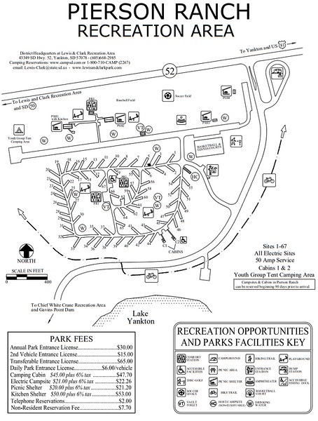 Pierson Ranch Recreation Area (Campground Map)