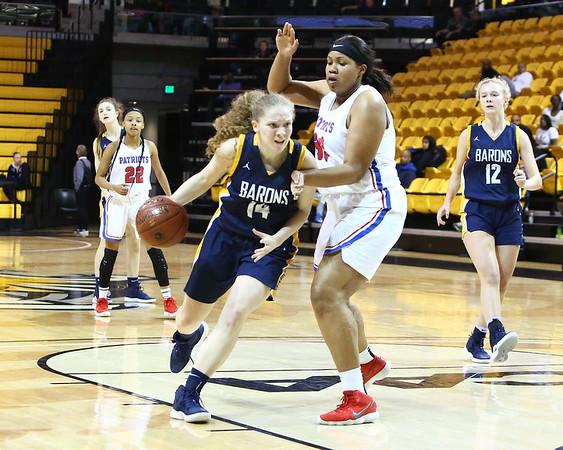 20190314 Girls Varsity 4A Basketball Semifinal BCC vs Old Mill