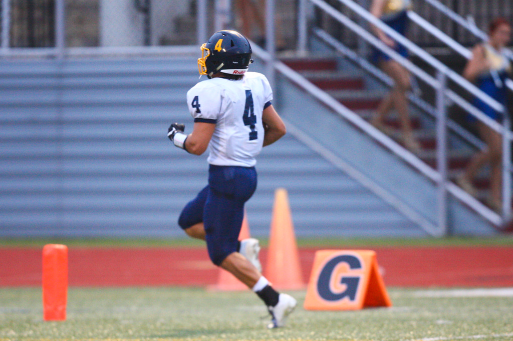 . 2018 - Football - Kirtland at Geneva.  Kirtland defeated Geneva 35 - 0.