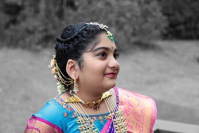Anvitha's Saree Ceremony