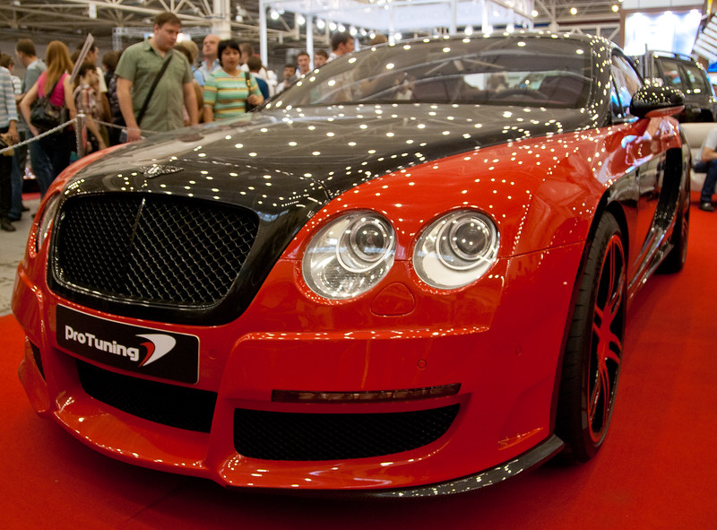 Bentley on SIA 2010