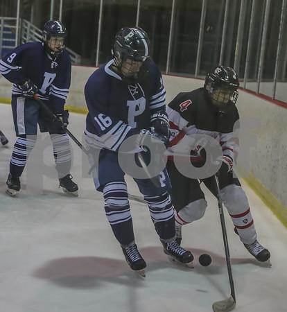 MCT HS Hockey 2019 Finals Princeton vs Hun - All Action
