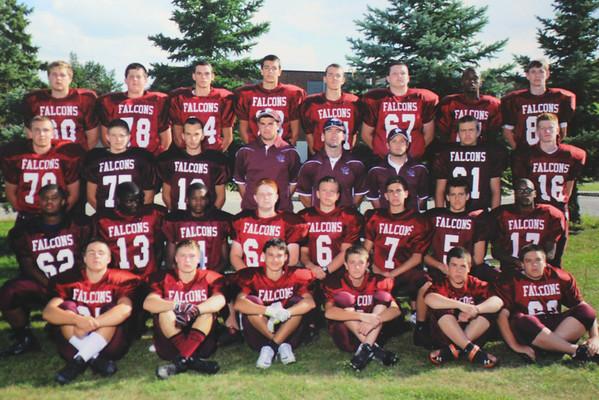 Ford Freshmen Football Team Pic