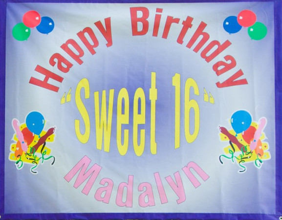 Madelyn's 16 Birthday Party 7/17/2011