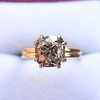 Spilt Prong Yellow Gold Solitaire Mounting, by Stuller 15
