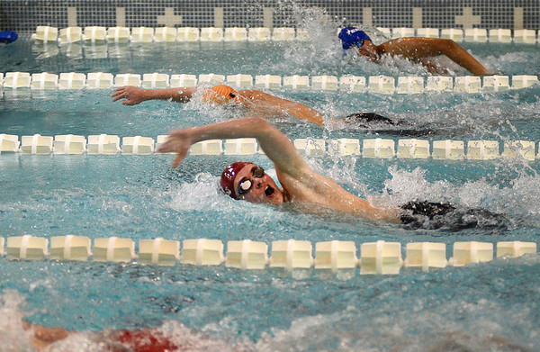 Western/Central Mass Boys swimming and diving championship - 020920