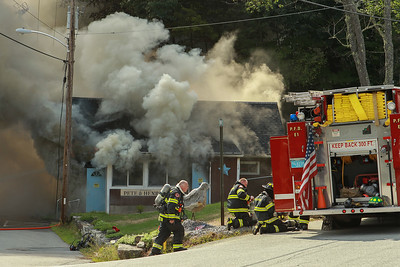 3 Alarm Restaurant Fire - 84 Main St, Royalston, MA - 8/21/18