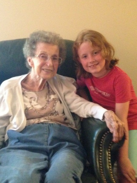 2013ish Annie and great granddaughter Annie.jpg