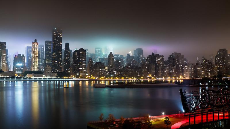 Long Island City Fog