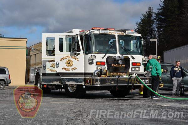 Schuylkill County - Pottsville City - Vehicle Fire - 01/13/2018