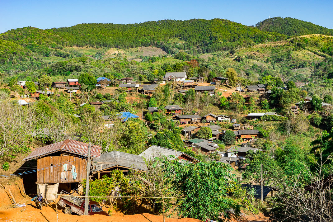 Thai Karen Village Hillside