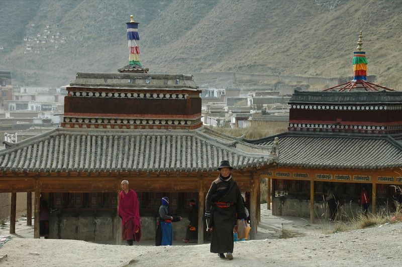 Tibetan Prayer Walk - Xiahe, China