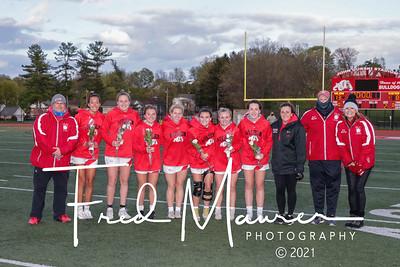 4/22/2021 Wilson Girls Lacrosse Senior Night