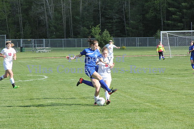Northland Pines Girls Soccer vs. Three Lakes Bluejays