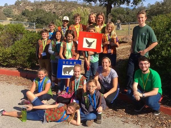 Oak Ambassadors welcome Ocean View Elementary School 4th graders!